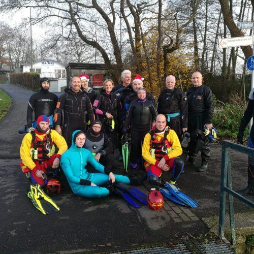 Fackelschwimmen 19 TSC-DLRG Gruppe